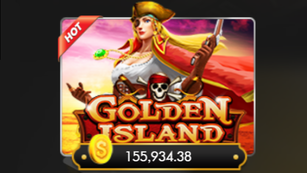Golden Island Slot เกมสล็อตโจรสลัด ตามหาสมบัติจากเกาะต่างๆ